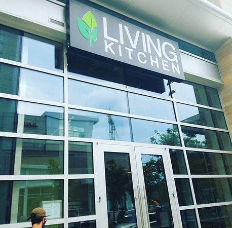 front of living kitchen on fayetteville st - Living Kitchen Raleigh