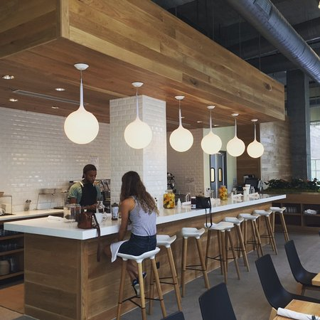 living kitchen health bar for organic cold pressed juices smoothies and coffees - Living Kitchen Raleigh