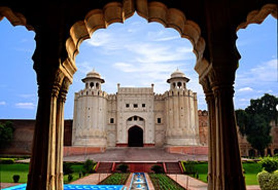 he Lahore Fort, locally referred to as the Shahi Qila (Urdu