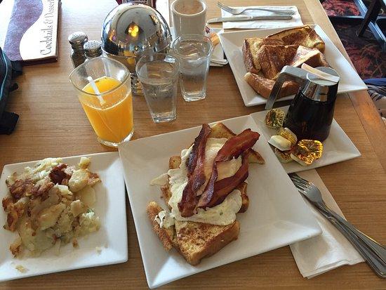 East Rutherford, NJ: Buonissima colazione americana.