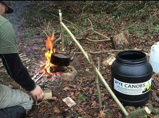 Wye Canoes Ltd: Bushcraft