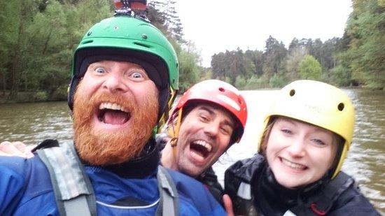 Wye Canoes Ltd: Having a great day