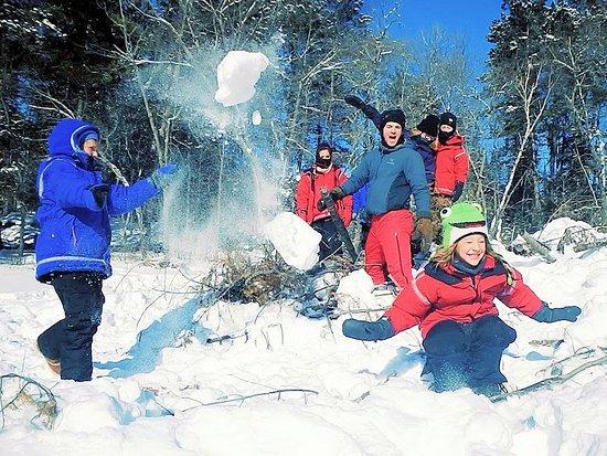 Ely, MN: Family snow fun