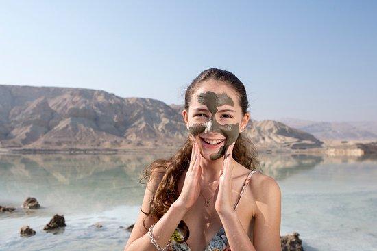 Dødehavet, Israel: Mud Treatment