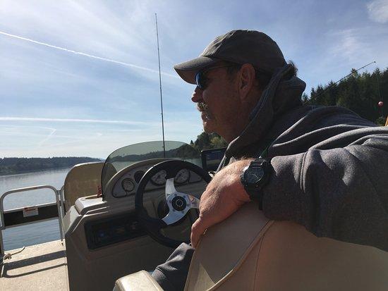 Gaston, Oregón: Party Boating on Hagg Lake