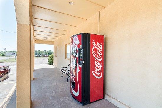 Shamrock, تكساس: Vending