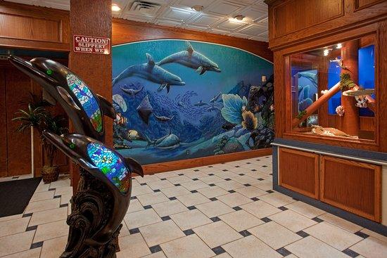 Holiday Inn Corpus Christi - N. Padre Island: Hotel Lobby