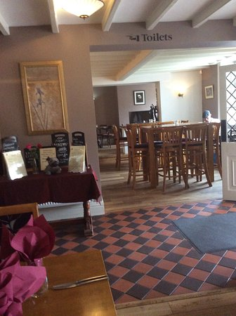 Turvey, UK: Main Bar