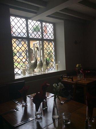 Turvey, UK: Restaurant view