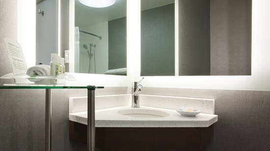 Weirton, Virgínia Ocidental: Refreshed and updated accessible guest bathrooms