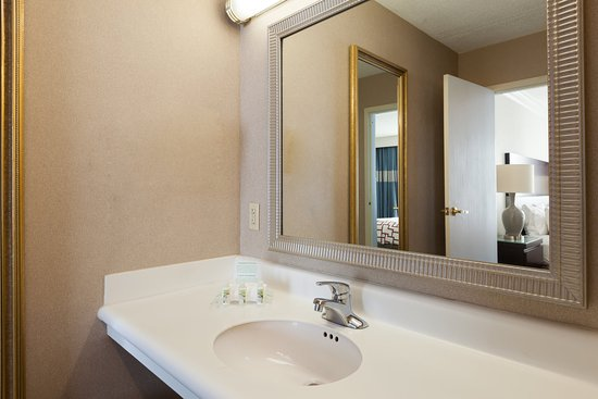 Weirton, Virgínia Ocidental: Upgraded Bath Amenities at our Holiday Inn Hotel.