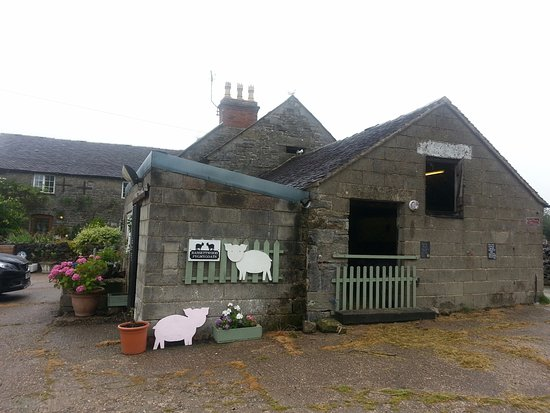 Tissington, UK: Lovely farmhouse with loved animals. All animals have their own names