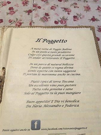 Tirli, Italien: Alcuni piatti, tra cui dolci, antipasti e primi, che si possono gustare al Poggetto
