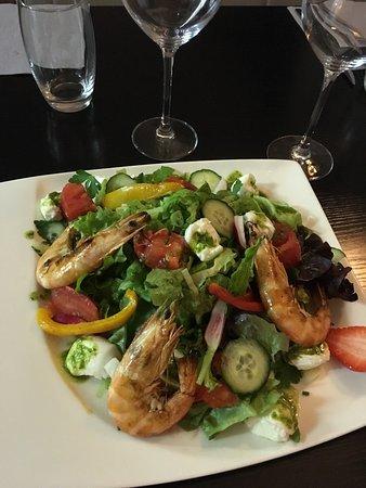 Faverges, França: Salade di Buffala