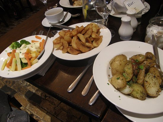 Shannonbridge, Irlanda: A selection of side dishes