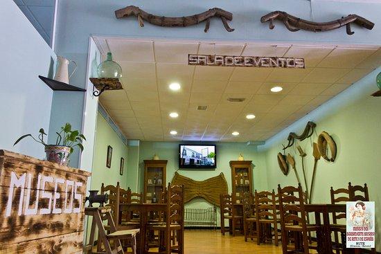 Руте, Испания: Sala de eventos de los Museos del aguardiente anisado de Rute y España