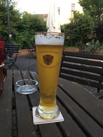 Radeberg, ألمانيا: Zwickel - gibt es nur hier oder bei der Brauereiführung