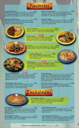 Versailles, KY: Favorites, Enchiladas
