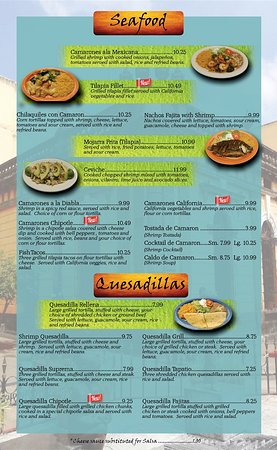 Versailles, KY : Seafood, Quesadillas