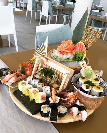 Sky Valley Restaurant Sushi Bar Esposende Menu Prices