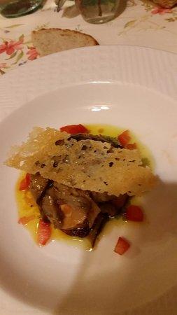 Osteria dell'Arte : Parmigiana di melanzane