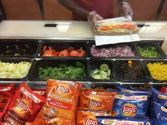 Webster, NY: Subway - fresh veggies for subs!