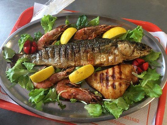 Principina a Mare, İtalya: Amazing fresh food buonissimo e fresco anche la Paranza