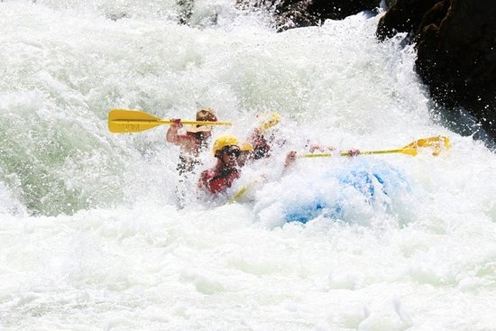 Willow Creek, Californien: Like whitewater?? Hell's Hole!