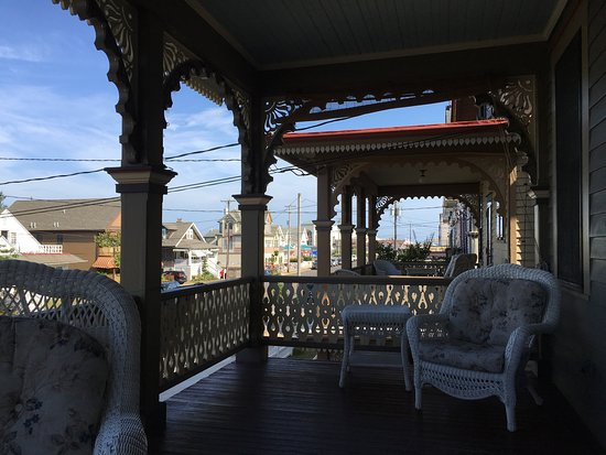John Wesley Inn : View from the Stockton's porch