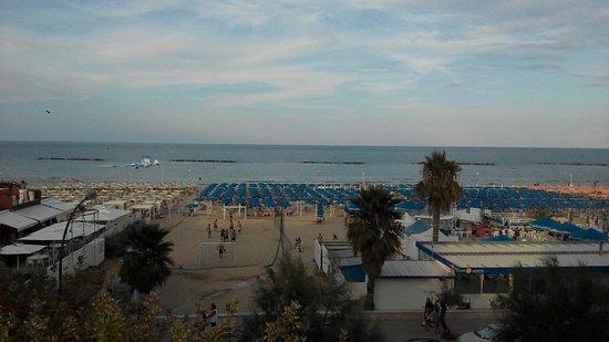 Hotel Palmarosa: Dal balcone vista mare