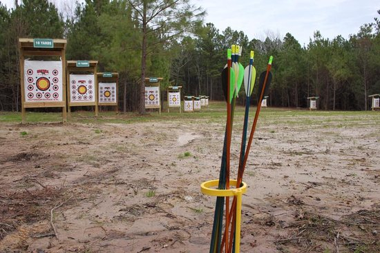 Flint, TX: World Class Archery Range