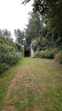 Uitgeest, Nederland: De achterzijde van eht fort. Of toch de voorzijde?