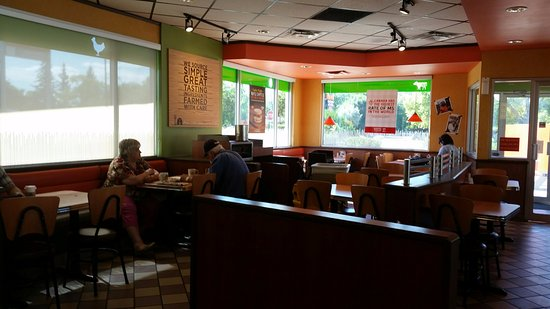 A&W Restaurant: dining room - clean