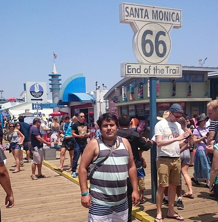 Santa Monica Visitor Center: Muelle Santa Monica Beach !!!