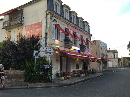 Castelnau-de-Medoc, Francia: Brasserie des Landes