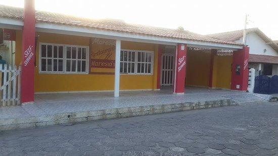 Alcobaca, BA: Restaurante