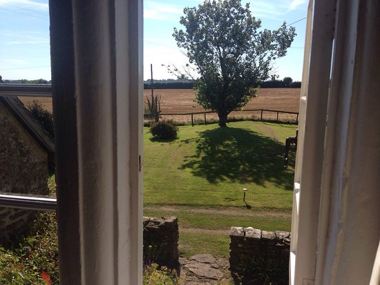 These were the views from our bedroom at Broadgrove House. A charming place to stay with a most