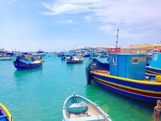 Marsaxlokk, Malta: Bellissimo
