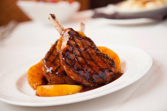 Burr Ridge, IL: Frenched BBQ Pork Chops