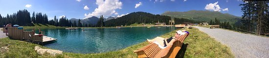 Serfaus, Austria: Summer on the lake