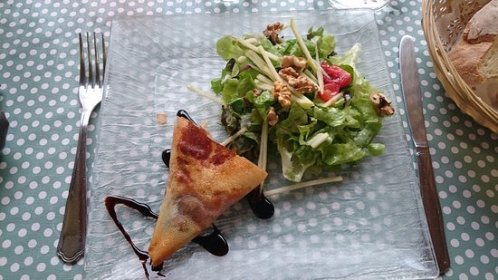 Sarrazac, Francia: Des plats très inventifs.