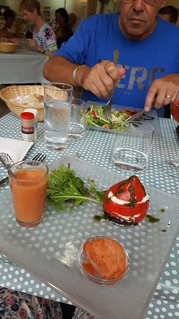 Sarrazac, Francia: La tomate dans tous ses états