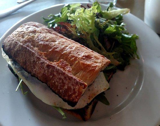Hanover, Nueva Hampshire: breakfast sandwich