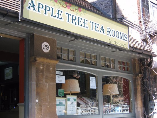 Apple Tree Tea Rooms : Look out for this little treasure