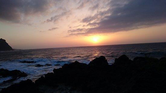 Buenavista del Norte, Espagne : vistas desde el chiringuito