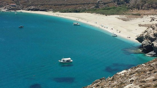 Andros, Greece: Achla Beach