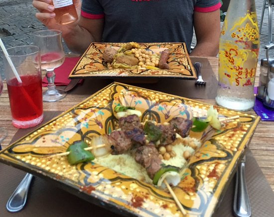 Le Beausset, Francja: Couscous brochette