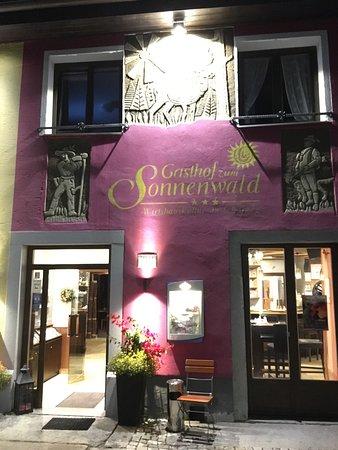 Schöfweg, Deutschland: Open till midnight - rare in the region