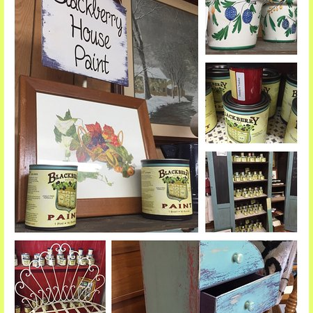 Salem, IN: Blackberry House Paint products & classes are at The Destination Antiques