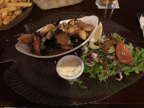 Rush, Irland: crab claws (chele di granchio)